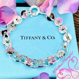 NWOT Tiffany & Co. Tiffany 1837 Circle Bracelet 7""